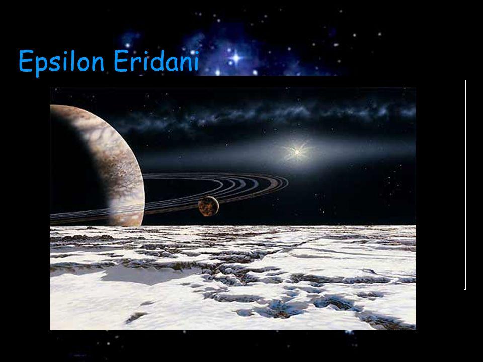 Epsilon Eridani  Disco de poeira  Aproximadamente