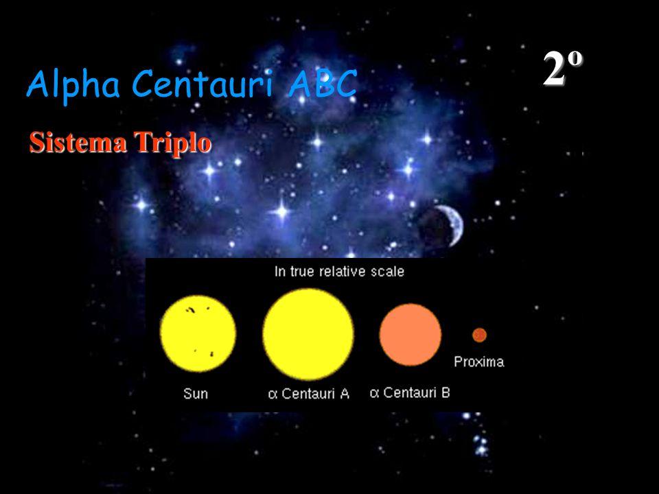 2º Alpha Centauri ABC Sistema Triplo