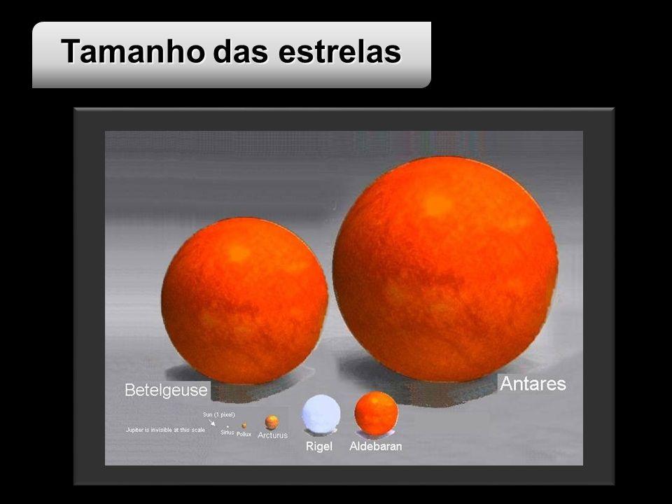 Tamanho das estrelas Imagem disponível em : <http://www.brevardastro.org/albums/UniverseScale/photo5.html> Ultimo acesso em 02 de Junho de 2008.