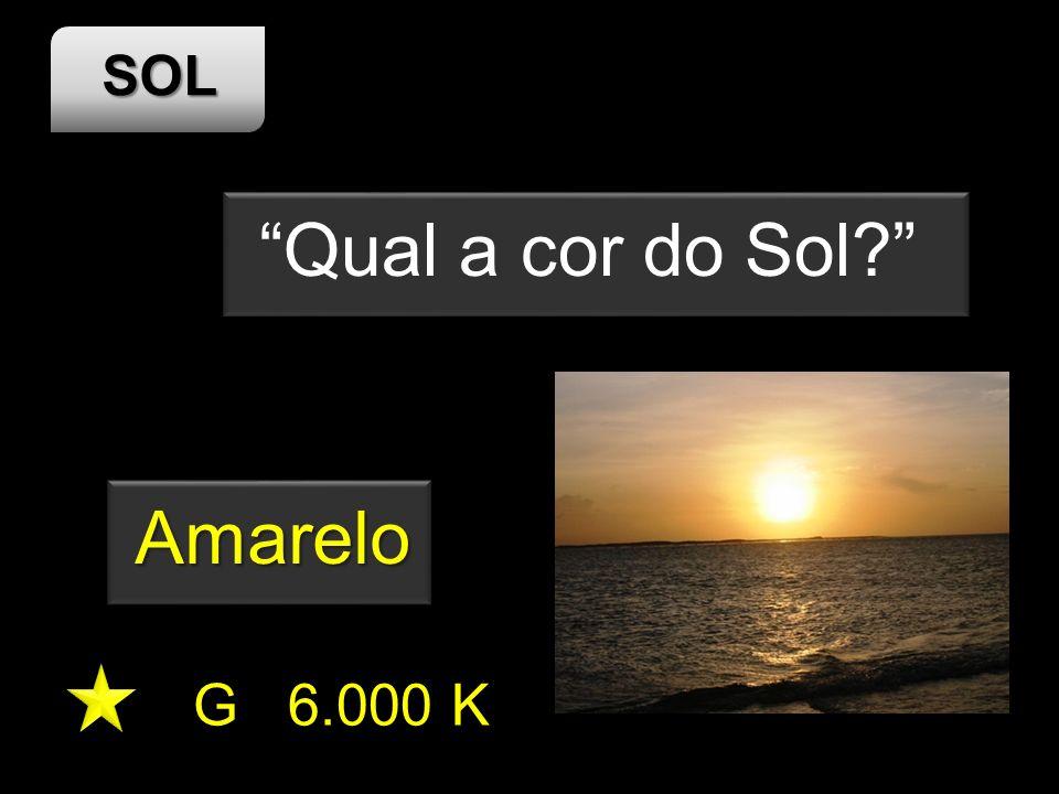 Qual a cor do Sol Amarelo G 6.000 K SOL
