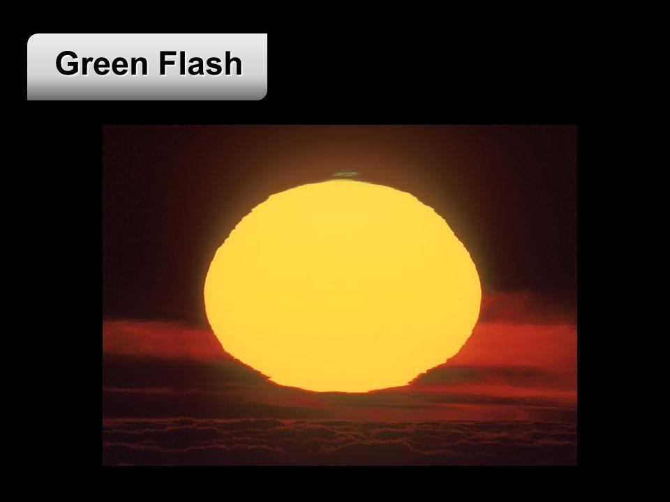 Green Flash Imagem disponível em: <http://www.intersoft.it/galaxlux/GF250501_17.htm> Ultimo acesso em 04 de Junho de 2008.