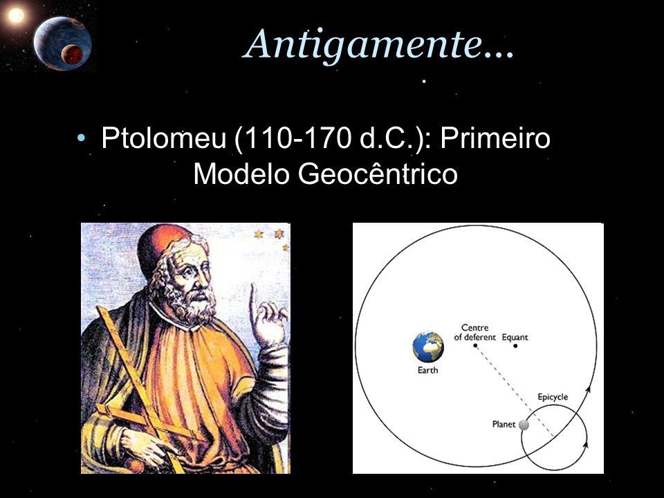 Ptolomeu (110-170 d.C.): Primeiro Modelo Geocêntrico