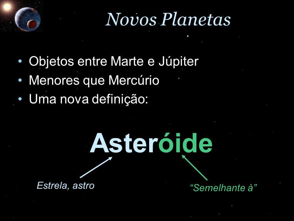 Asteróide Novos Planetas Objetos entre Marte e Júpiter