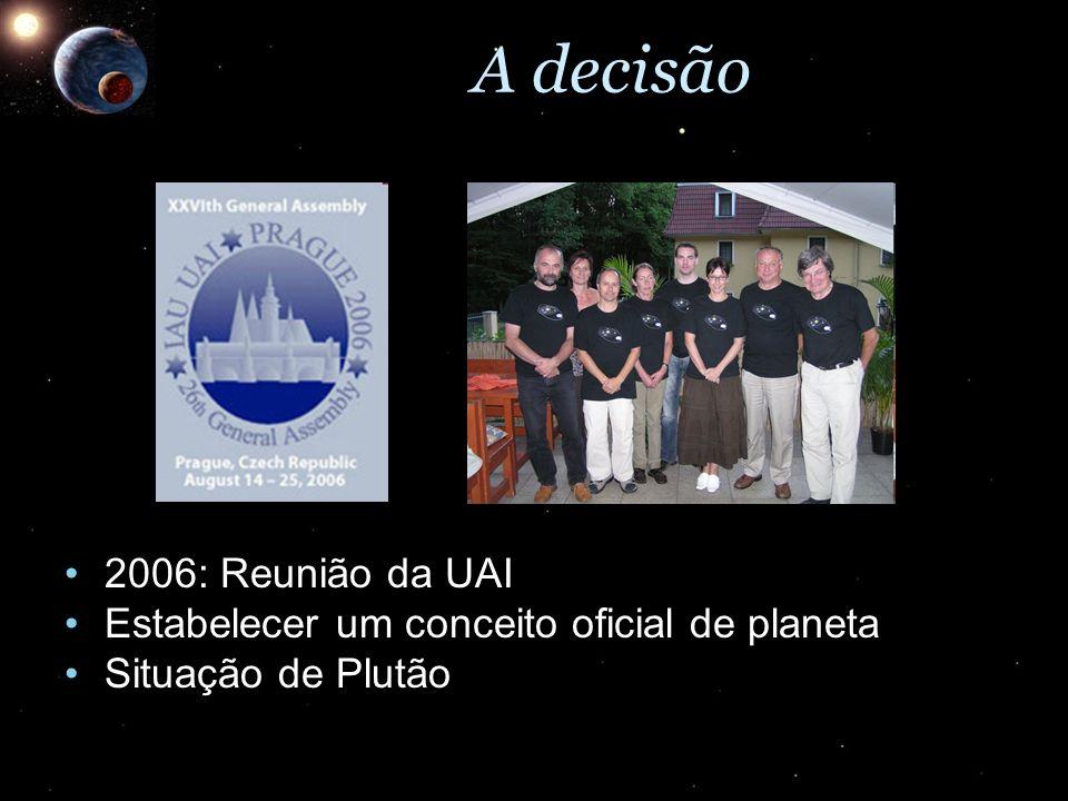 A decisão 2006: Reunião da UAI