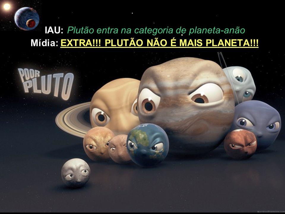 IAU: Plutão entra na categoria de planeta-anão