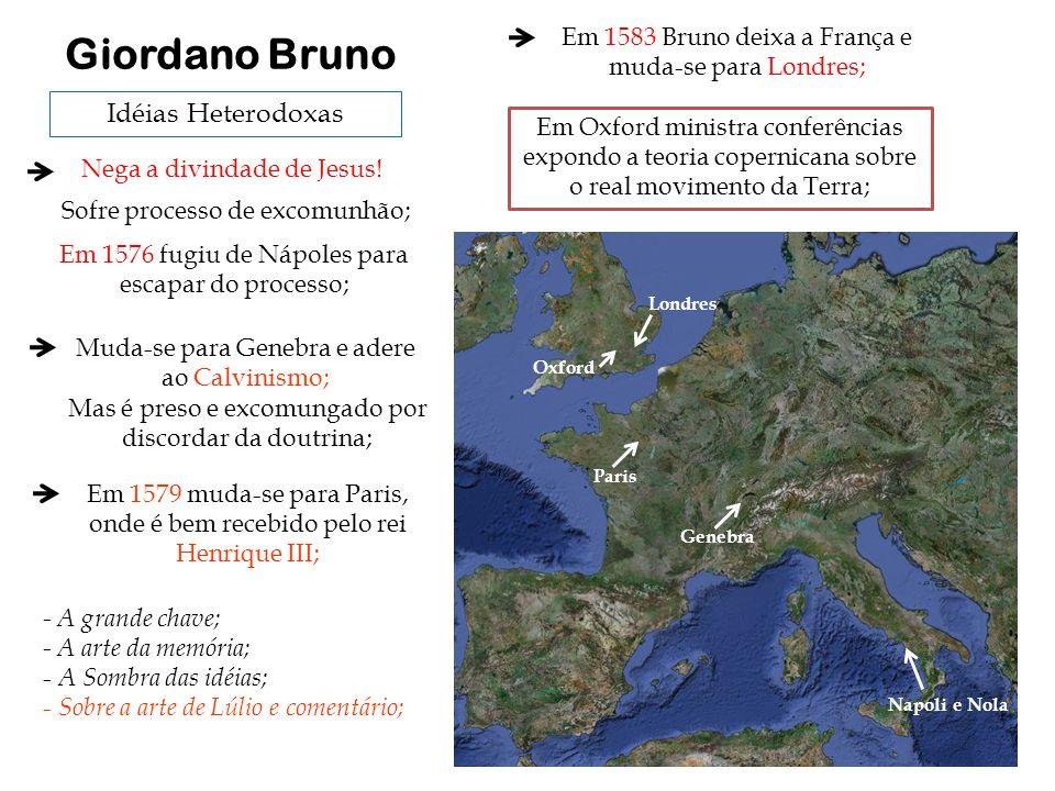 Giordano Bruno Idéias Heterodoxas