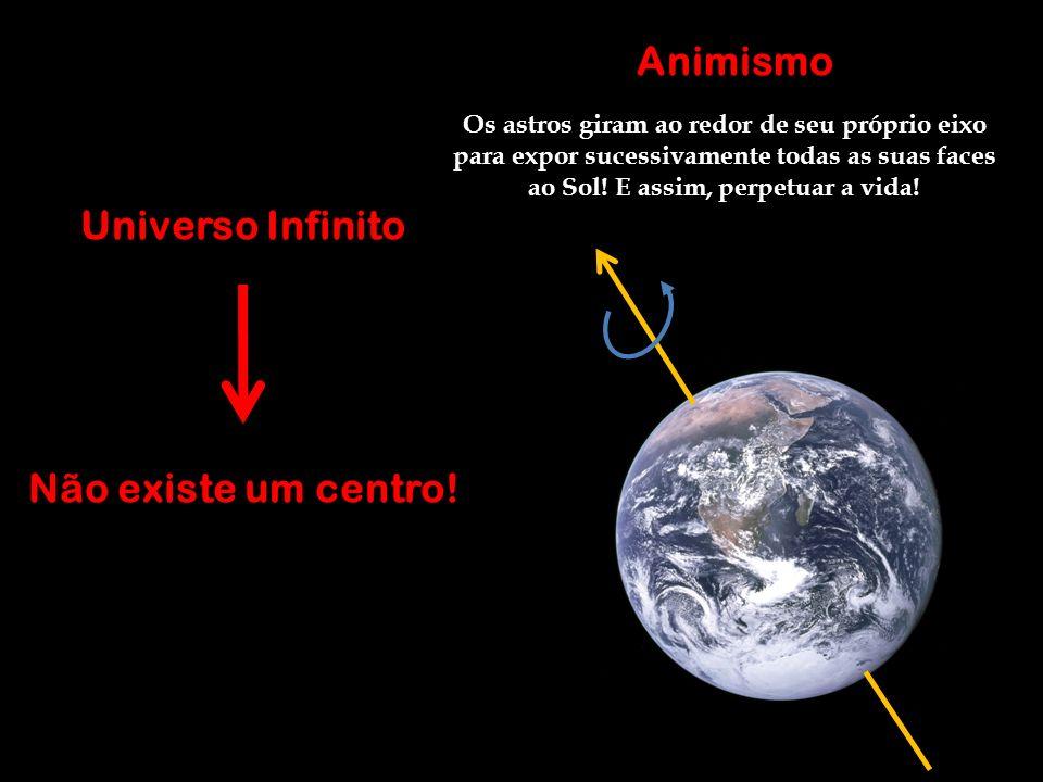 Animismo Universo Infinito Não existe um centro!