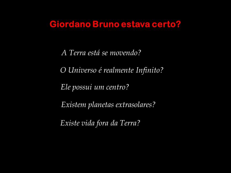 Giordano Bruno estava certo