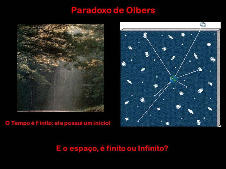 Paradoxo de Olbers E o espaço, é finito ou Infinito