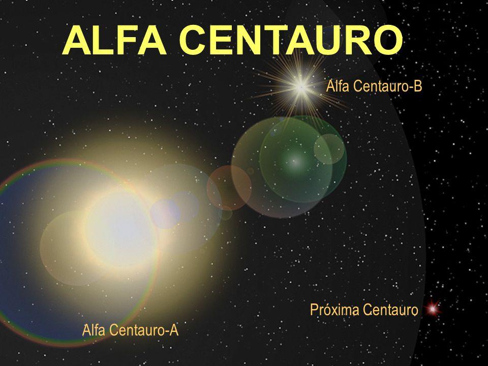ALFA CENTAURO Alfa Centauro-B Próxima Centauro Alfa Centauro-A