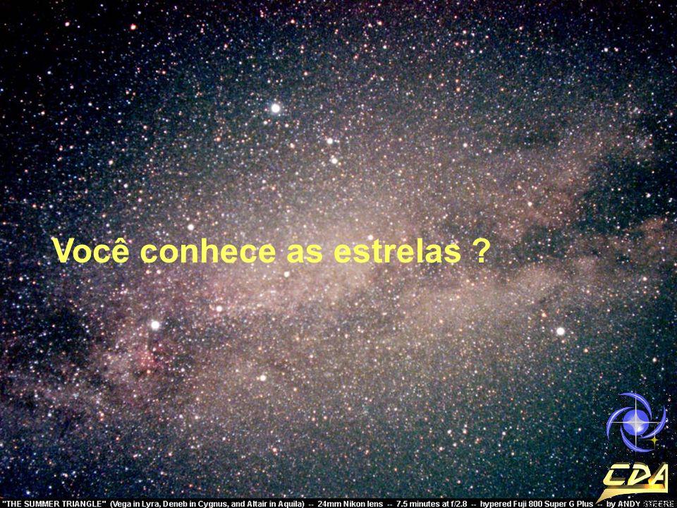 Você conhece as estrelas