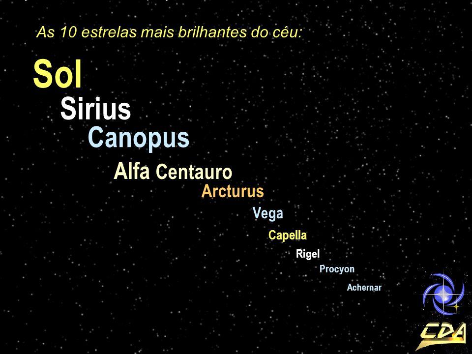 Sol Sirius Canopus Alfa Centauro Arcturus