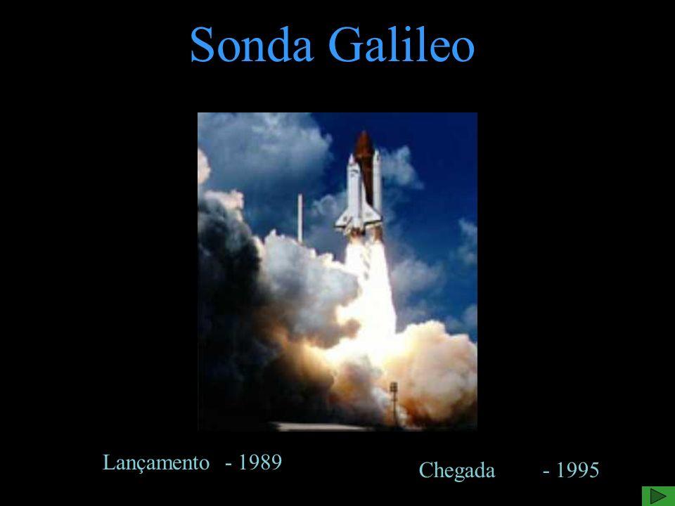 Sonda Galileo Lançamento - 1989 Chegada - 1995