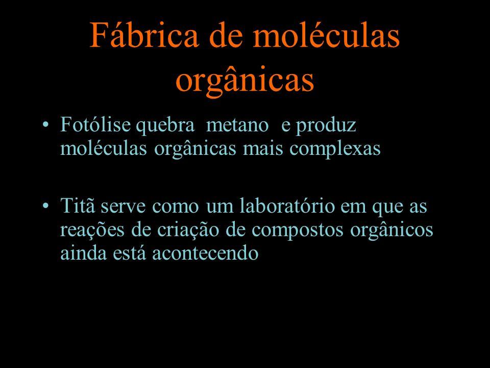 Fábrica de moléculas orgânicas