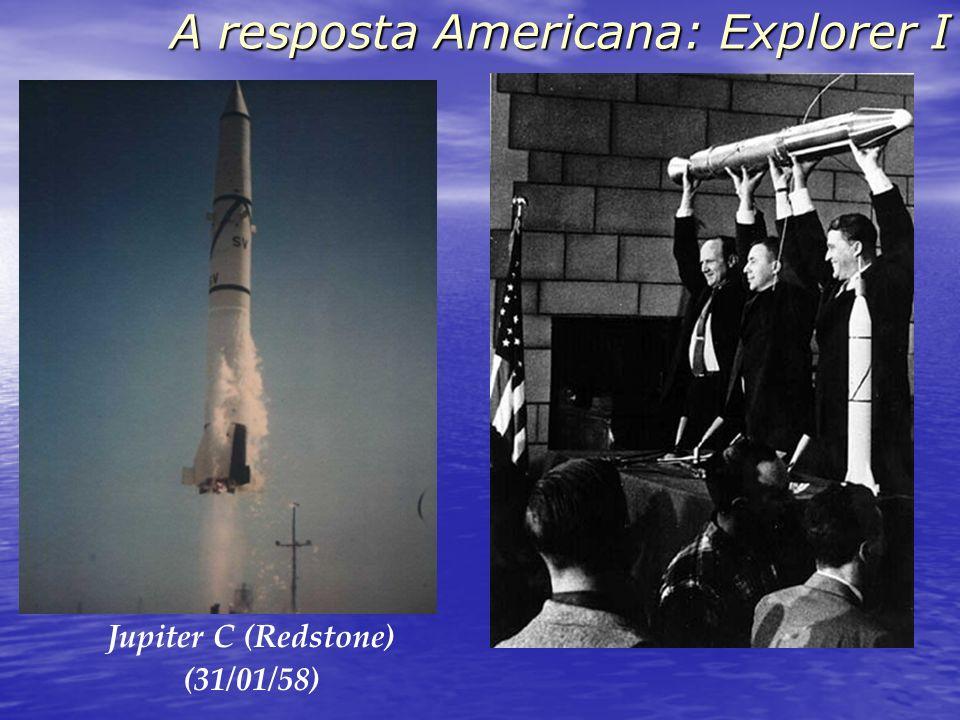 A resposta Americana: Explorer I