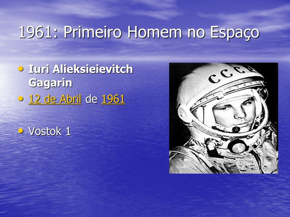 1961: Primeiro Homem no Espaço