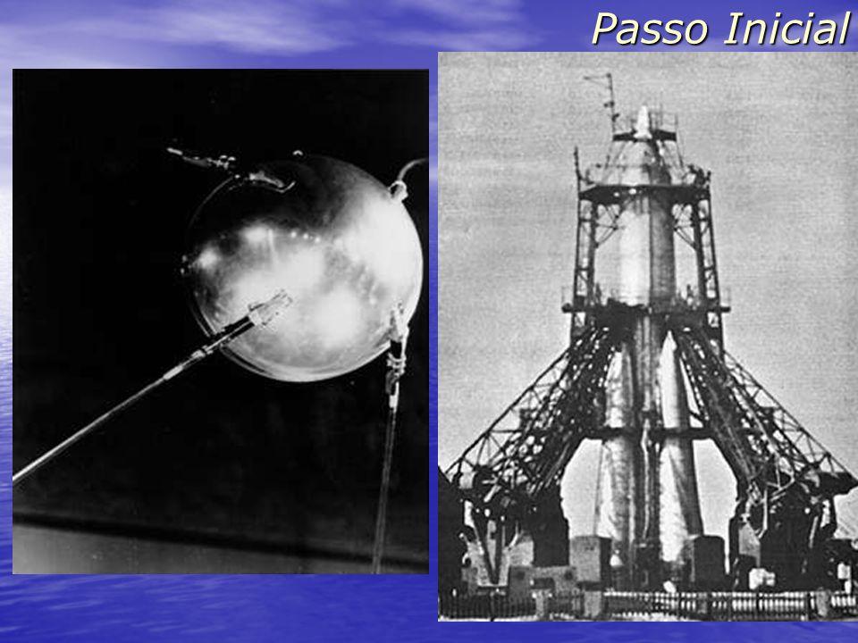 Passo Inicial Sputnik (4/10/1957) - 83 kg - uma volta em 98 minutos