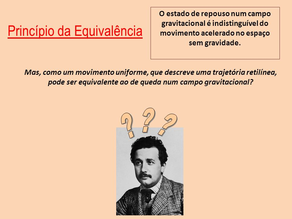 Princípio da Equivalência