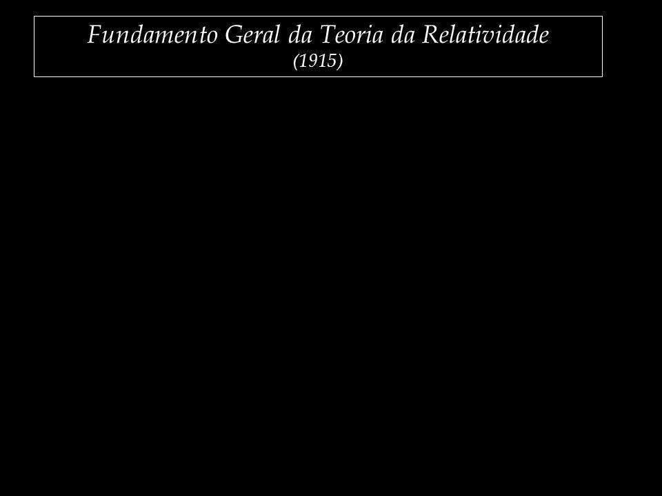 Fundamento Geral da Teoria da Relatividade