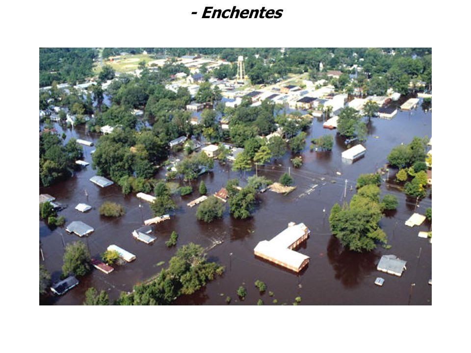 - Enchentes