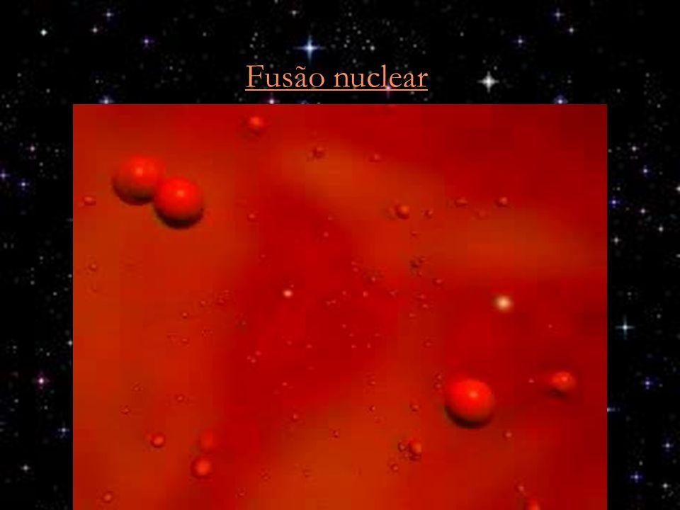 Fusão nuclear Videozinho ilustrando a fusão de 2 núcleos de hidrogênio em um de deutério.