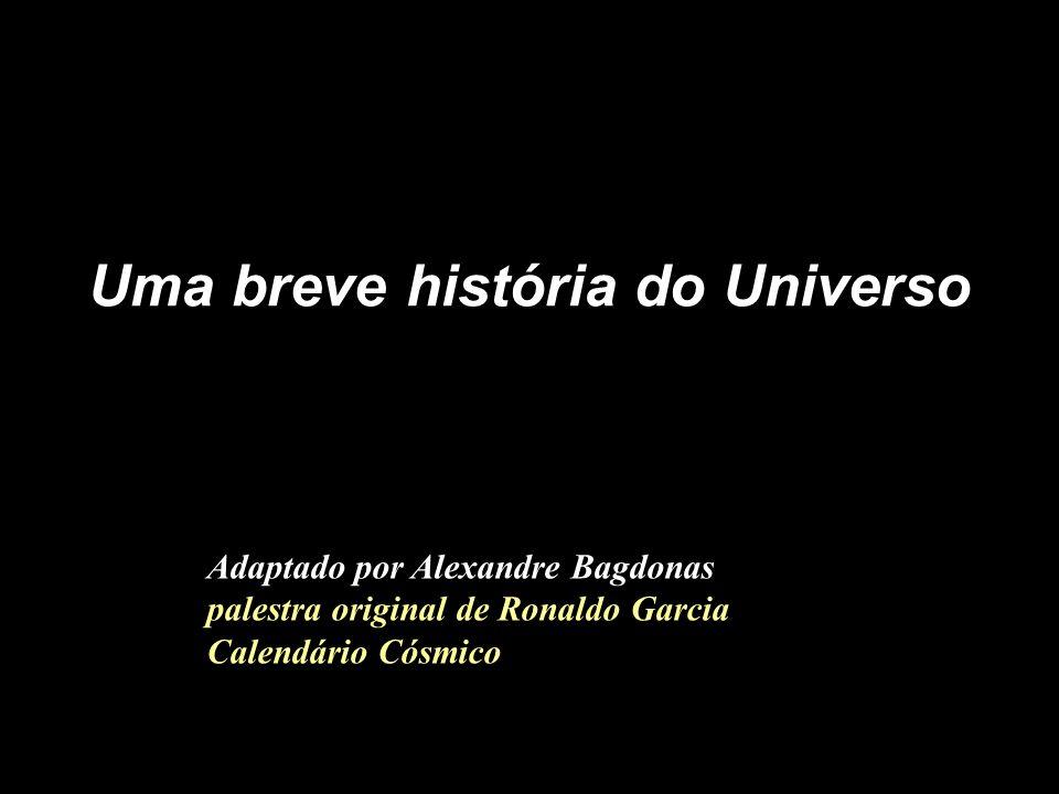 Uma breve história do Universo