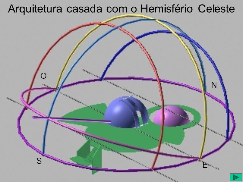 Arquitetura casada com o Hemisfério Celeste