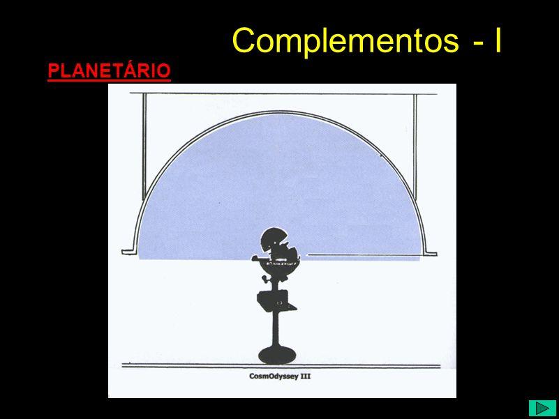 Complementos - I PLANETÁRIO