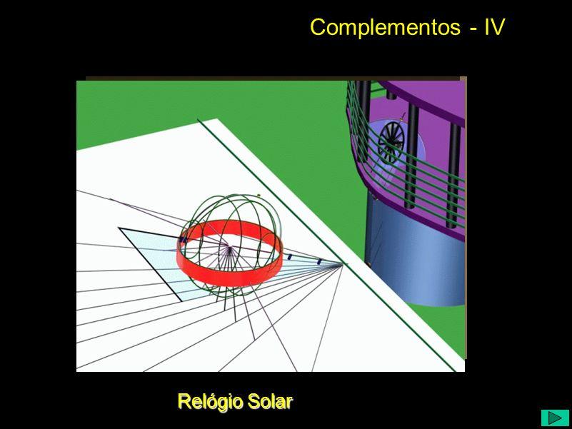 Complementos - IV Relógio Solar