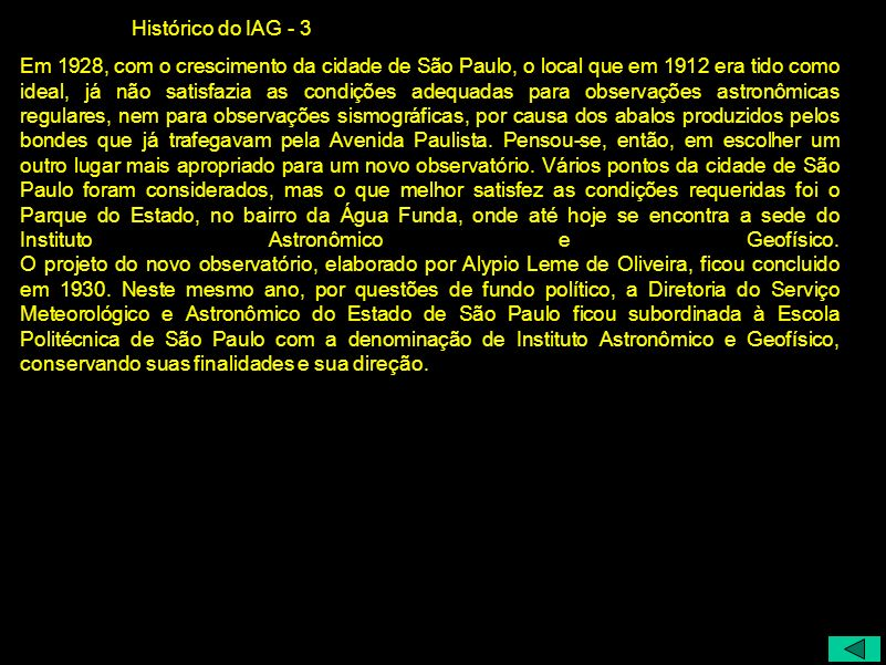 Histórico do IAG - 3