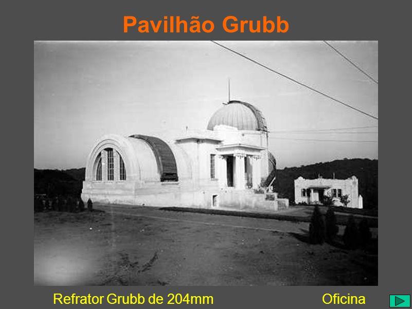 Pavilhão Grubb Refrator Grubb de 204mm Oficina