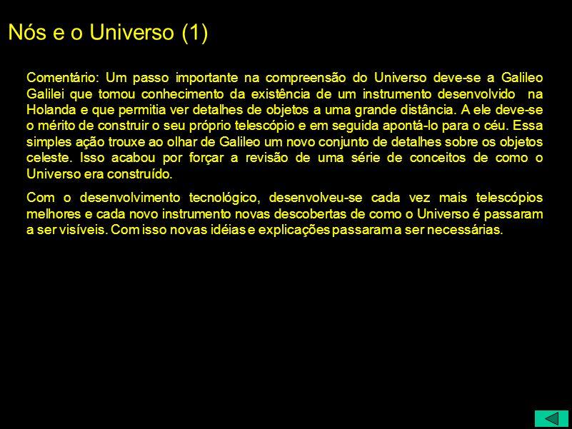 Nós e o Universo (1)