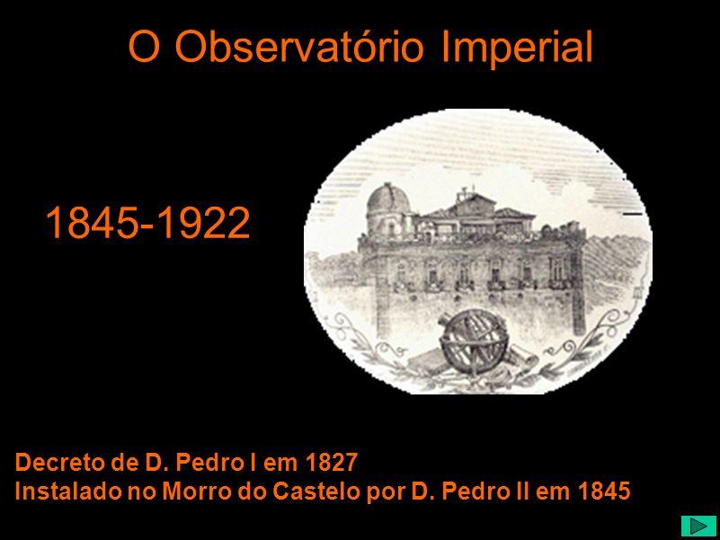 O Observatório Imperial