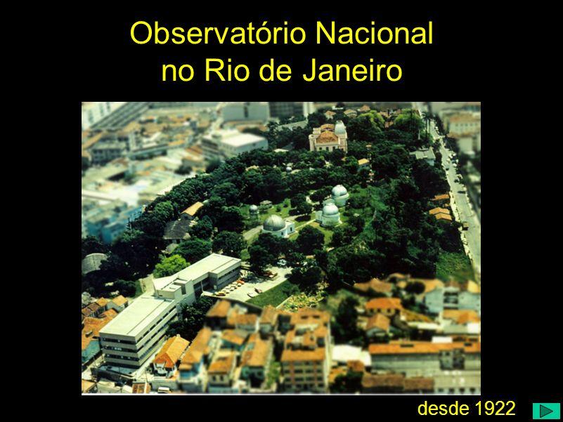 Observatório Nacional no Rio de Janeiro
