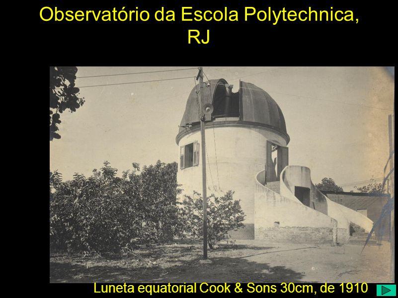 Observatório da Escola Polytechnica, RJ