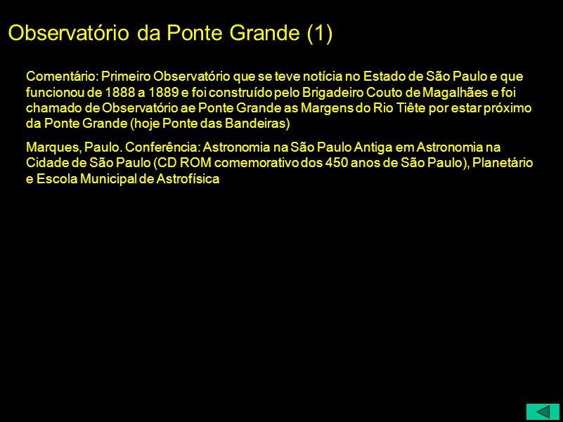 Observatório da Ponte Grande (1)