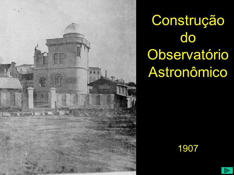 Construção do Observatório Astronômico