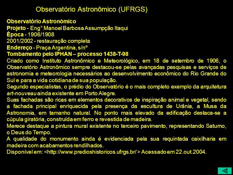 Observatório Astronômico (UFRGS)