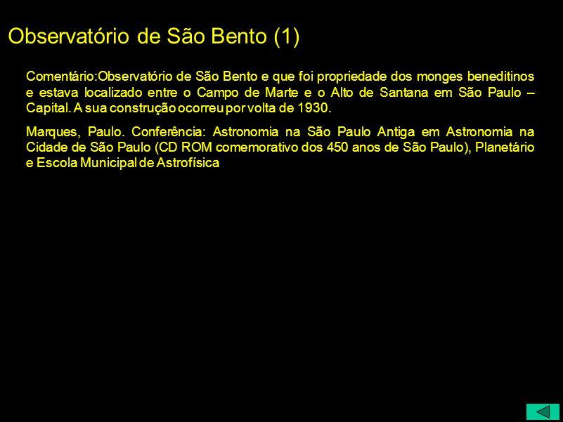 Observatório de São Bento (1)
