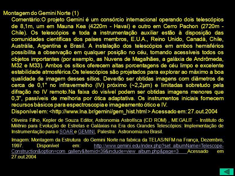 Montagem do Gemini Norte (1)