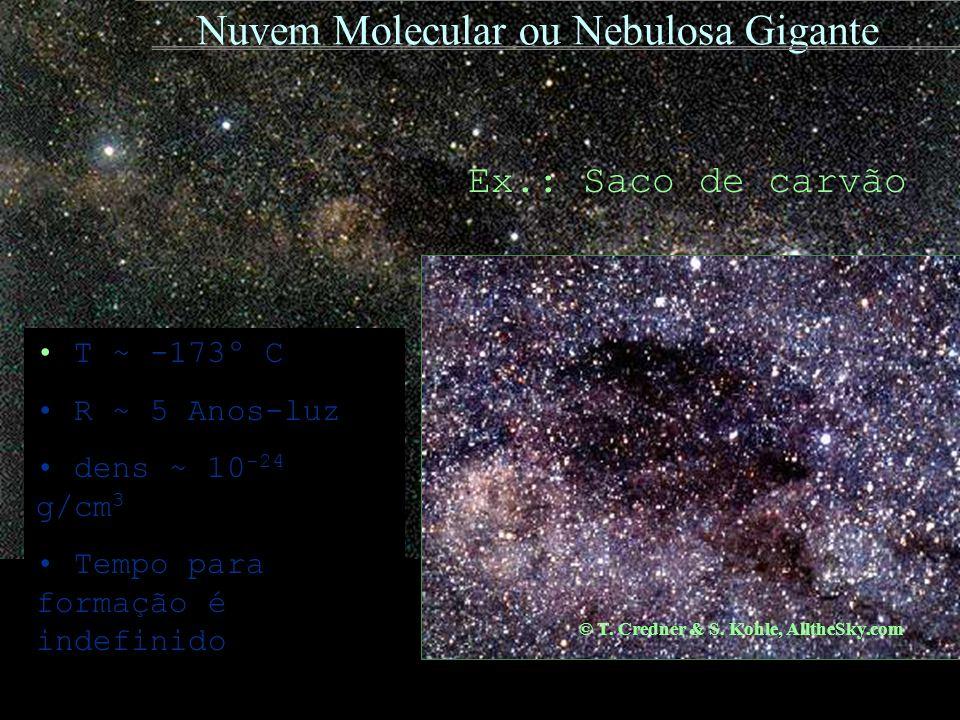Nuvem Molecular ou Nebulosa Gigante