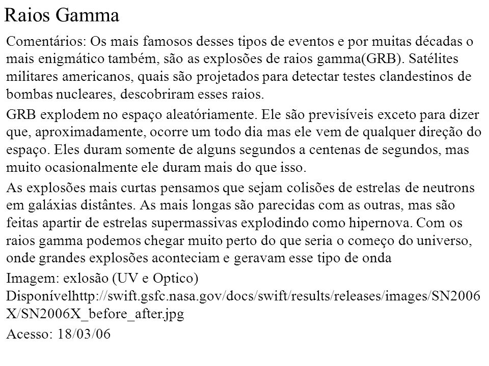 Raios Gamma