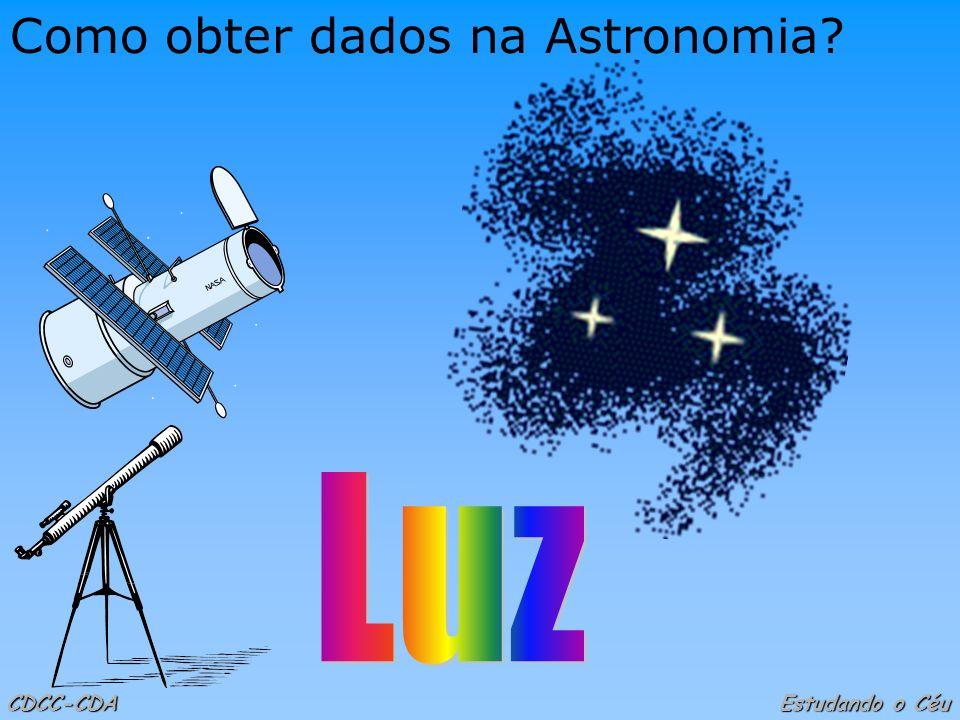 Como obter dados na Astronomia