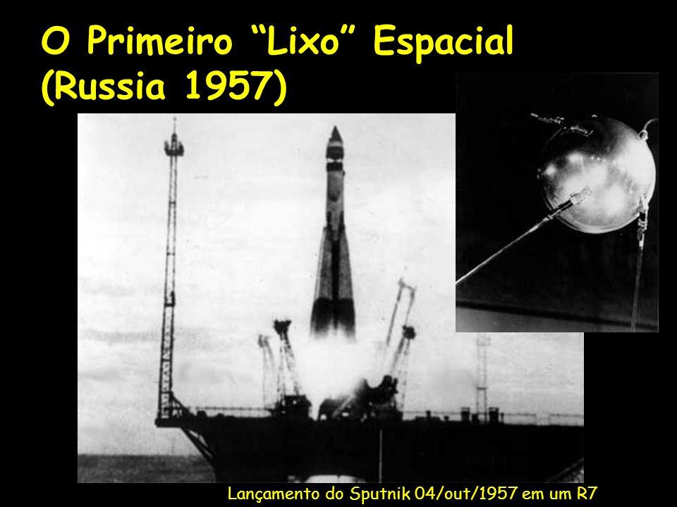 O Primeiro Lixo Espacial (Russia 1957)