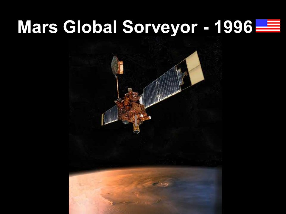 Mars Global Sorveyor - 1996