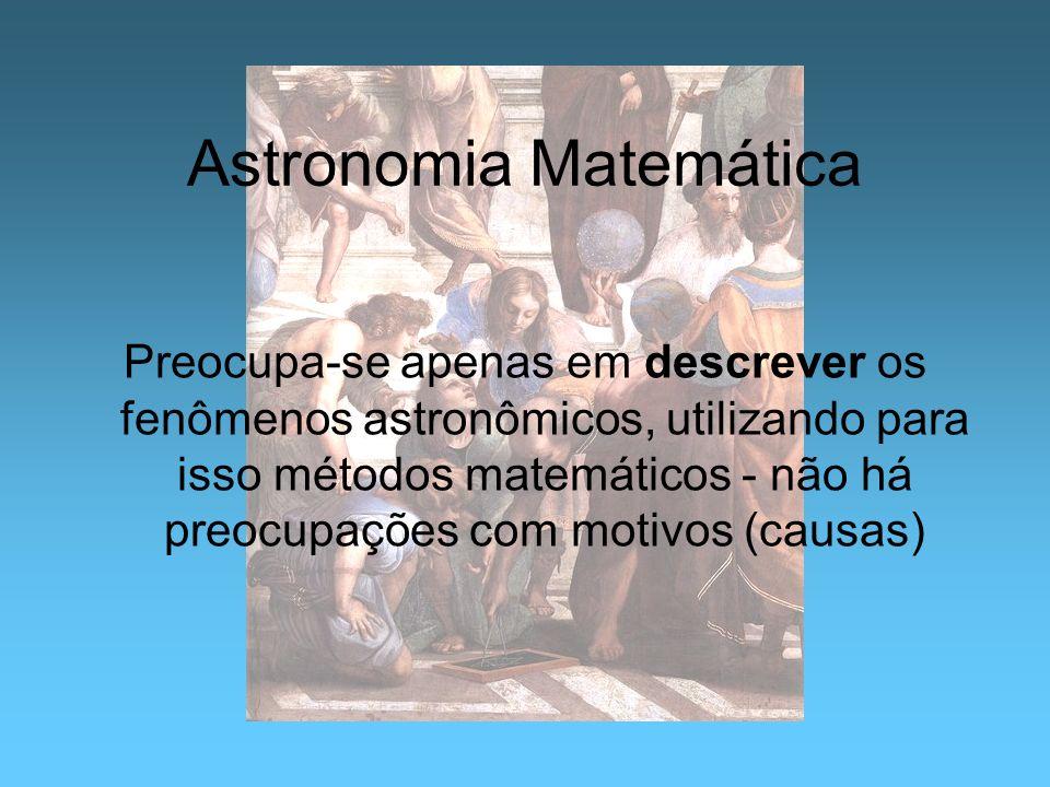 Astronomia Matemática