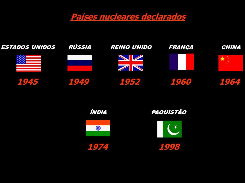 Países nucleares declarados
