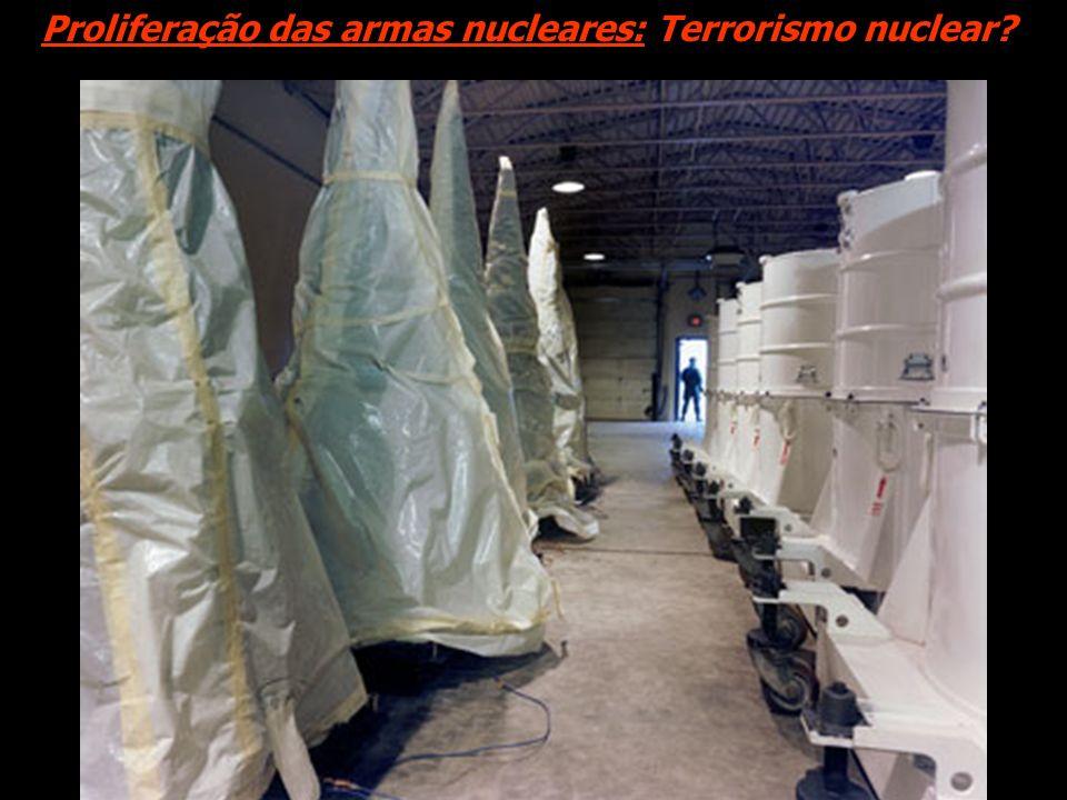 Proliferação das armas nucleares: Terrorismo nuclear