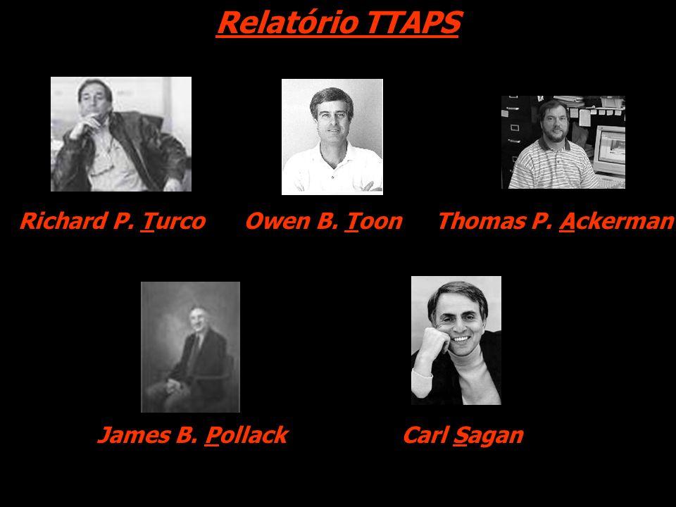 Relatório TTAPS Richard P. Turco Owen B. Toon Thomas P. Ackerman