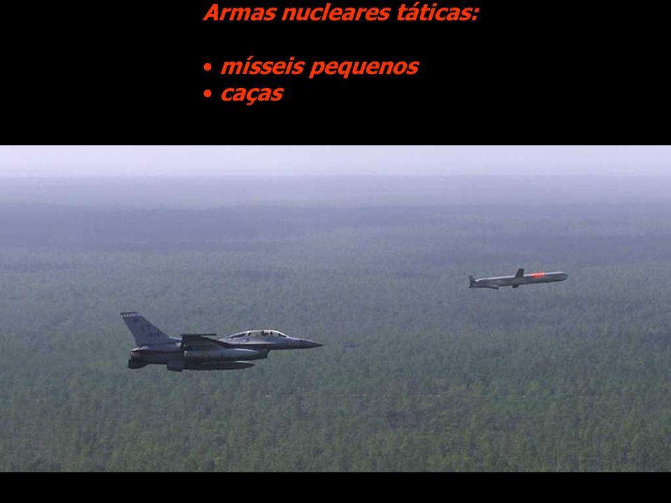Armas nucleares táticas:
